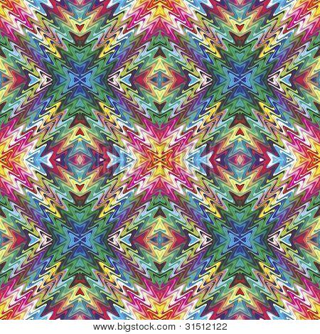 Modern Native American pattern