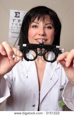 Optometrist Eye Test
