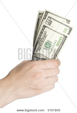 Dollars In A Hand