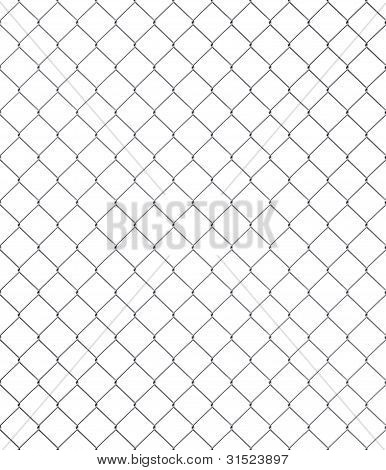 Silver Chainlink Fence