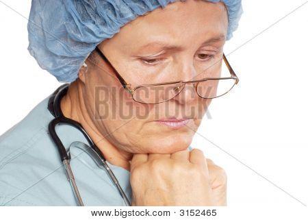 Grieving Nurse