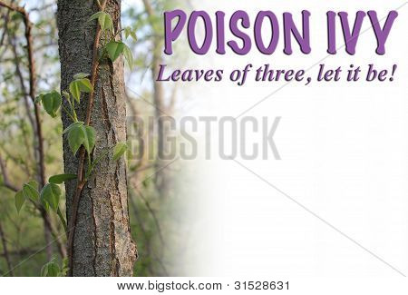 Poison Ivy Headline
