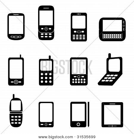 Various Cell Phones