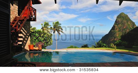 Pool Above The Piton