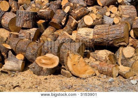 Heap Of Wood
