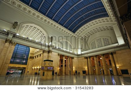 Union Station Chicago.