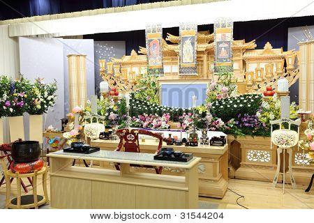 Beerdigung-Szene