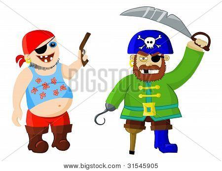 funny cartoon pirates