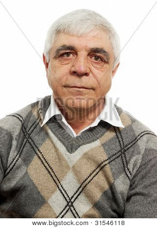 Gray-haired Man