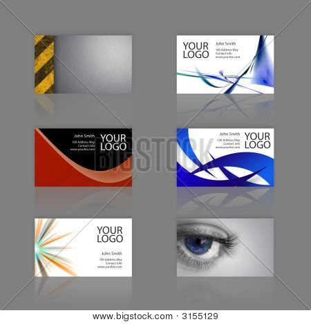 Bussiness Card Assortment