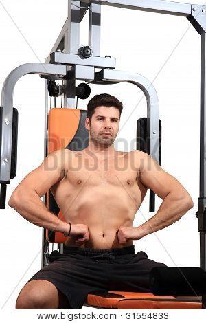 Body Builder Portrait
