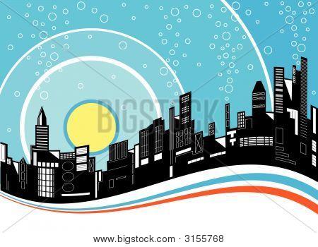 Ondulación de la ciudad