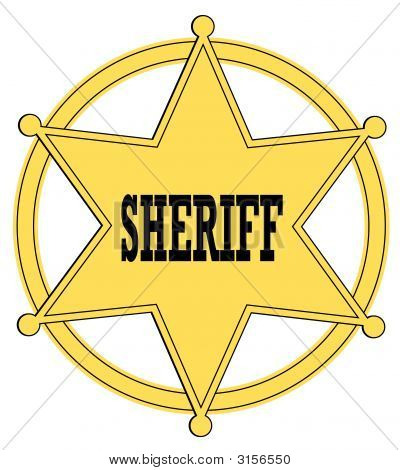 Sheriff Badge 2