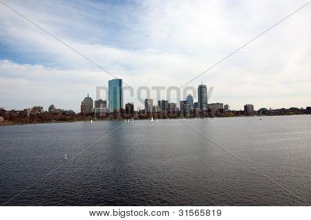 Boston Back Bay Skyline
