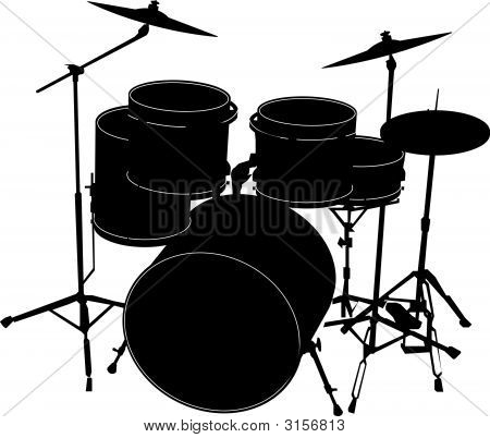 Drumssilouette