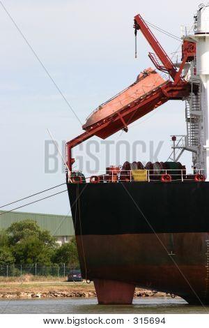 Cargo Ship Life Boat