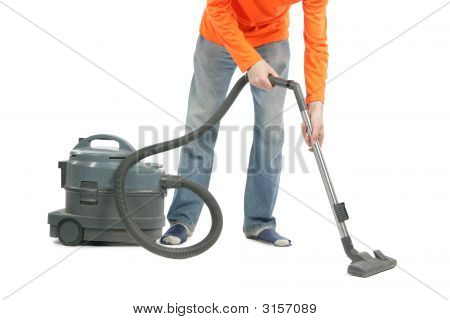 Man With Vacuum