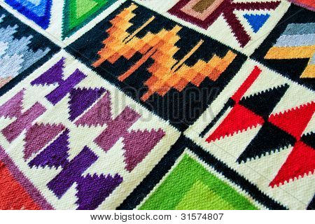 Peruvian Wool Wall Hanging