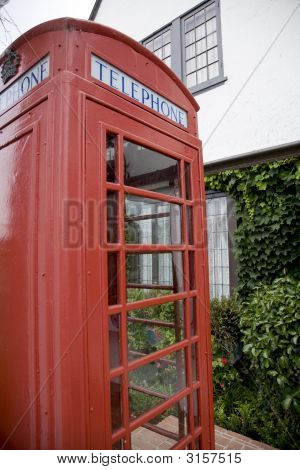 English Telephone Booth 3