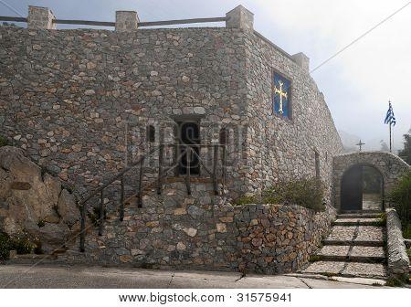 Kloster Steinmauer und Eingang