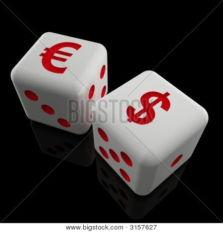 Business Dice Background