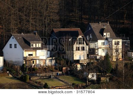 Residential Houses In Siegen, Germany