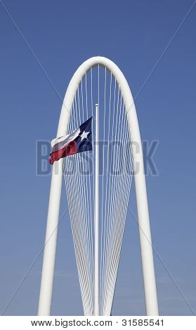 Arch with Texas Flag - Dallas, Texas