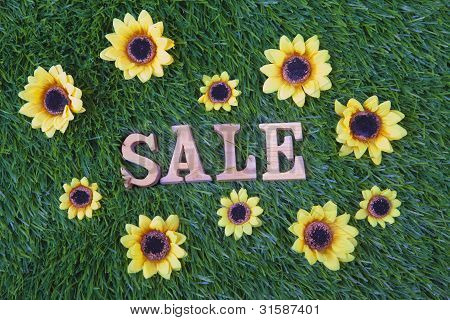 Sale Grass Flowers