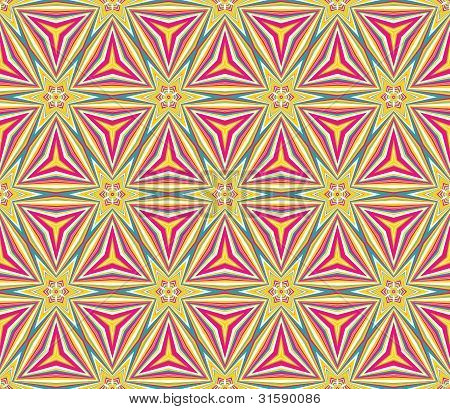 Colorful triangular mosaic