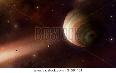 Giant Gas Planet Helios