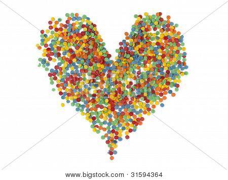 The Heart Of The Sugar Confetti
