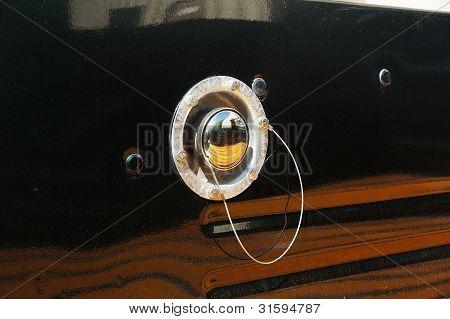 Old Round Gas Cap