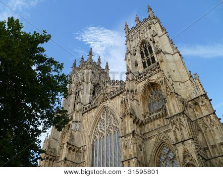 York Minster Twin Towers.