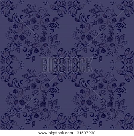 Blue-violet Gradient Pattern