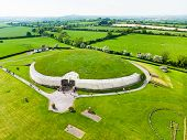 Newgrange, A Prehistoric Monument Built During The Neolithic Period, Located In County Meath, Irelan poster