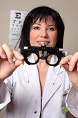 Optometrist Eye Test