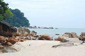 Pantai Teluk Cempedak In Kuantan, Pahang, Malaysia poster