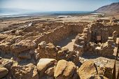 Archeological site, Qumran, Israel.