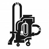 Professional Vacuum Cleaner Icon. Simple Illustration Of Professional Vacuum Cleaner Vector Icon For poster