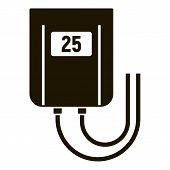 Temperature Smart Controller Icon. Simple Illustration Of Temperature Smart Controller Vector Icon F poster