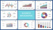 Business Inforgraphic Design Set For Marketing Concept. Can Be Used For Business Project, Annual Rep poster