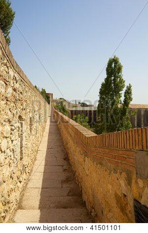 Girona Old City Wall 2
