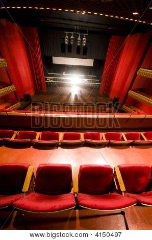 Interior Famous National Theater Nicaragua   Ruben Dario
