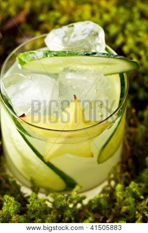 Cocktail - Gin Collins with Cucumber