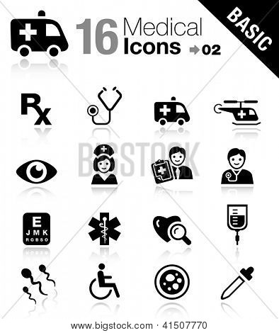 Basic - Medical icons