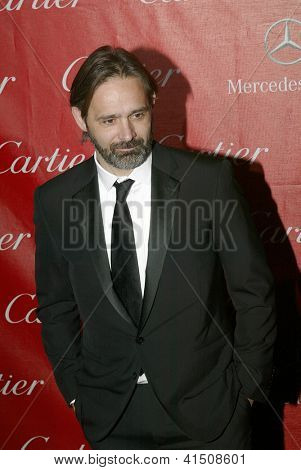 PALM SPRINGS, CA - JAN 5: Director Baltasar Kormakur arrives at the 2013 Palm Springs International Film Festival's Awards Gala on Saturday, January 5, 2013 in Palm Springs, CA.