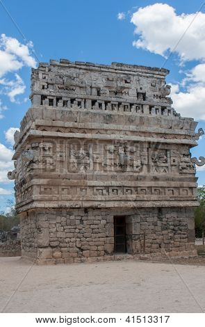 Temple In Chitchen Itza