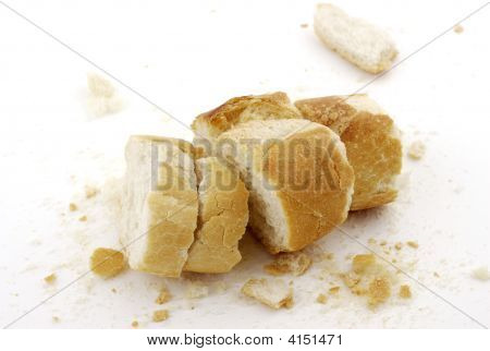 Remains Of Bread