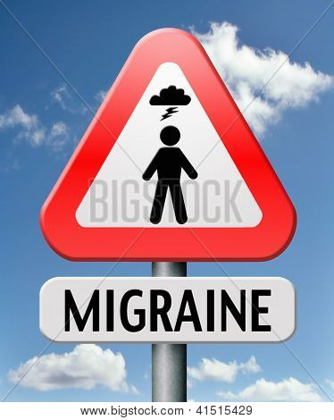 migraine acute or chronic headache symptoms need for painkiller or prevention therapy