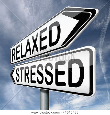 relaxed or stressed stress test factor or response on yoga and relaxation avoiding tension and management of nerves